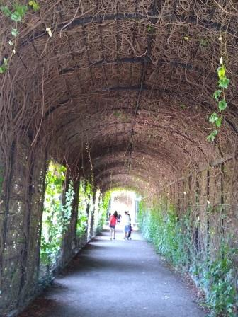 Covered archway